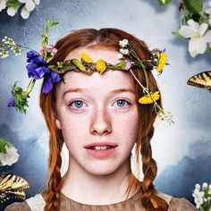Anne with an E  oh my giddy aunt I'm just two episodes in and I'm totally in love with this incarnation of Anne Shirley! Highly recommend for a quiet Saturday x  @netflixanz