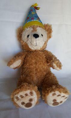 "Authentic Disney Parks Duffy It's My Birthday Teddy Bear Plush 17"" Hidden Mickey #DisneyParks #DisneysDuffyBirthdayBear"