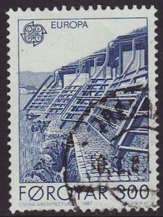 Faroes 1987 SG 144 Used Europa/CEPT Listing in the Denmark & Faroe Islands,Europe,Stamps Category on eBid United Kingdom 17 Day, Faroe Islands, Stamp Collecting, Denmark, United Kingdom, City Photo, Stamps, The Unit, Europe