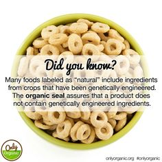 Learn more about Big Food's misuse of the word natural and other dirty little secrets: http://www.onlyorganic.org/get-facts/agricultures-dirty-little-secrets #fact #food #organic #cleanliving #cleaneats
