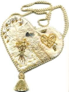 Kit de bolsa patchwork loco corazón