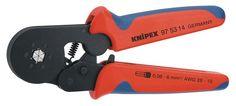 KNIPEX 97 53 14 Insulated Crimper, 28-10 AWG, 10 In L