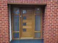 Communal timber doors