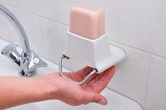Un rallador de jabón, una opción para el baño.