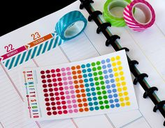 Dots Rainbow Sticker