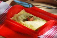 Pudding ligero de manzana y vainilla. chez silvia