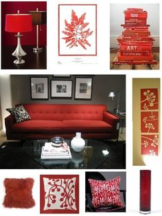 Red Couch Living Room On Pinterest Red Couches Couch And Living Rooms