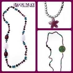 Cuarzo, maderas, estrella de ágata, jades, amatista, hematite...