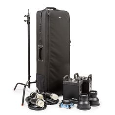 The Production Manager 50 holds light stands and strobes. need this.