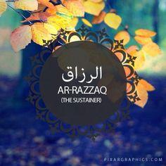من اسماء الله الحسنى (الرزاق_Ar-Razak) The 99 names of Allah