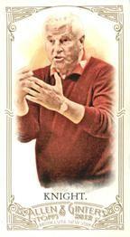 2012 Topps Allen & Ginter - Mini #19 Bob Knight Front