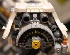Ugly Duckling engine technique | Since I was asked, this sho… | Flickr Lego Spaceship, Lego Military, Ugly Duckling, Lego Design, Lego Models, Lego Technic, Lego Building, Lego Creations, Legos
