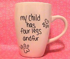 """I saw a coffee mug once that said """"Everything Tastes Better with Cat Hair in it!""""- should sharpie that on a mug"""