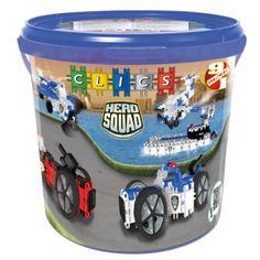 Clics Hero Squad Box - Politie Afmeting: verpakking Ø 27 x 26 cm - Clics Hero Squad Box - Politie