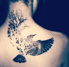 bird tattoo | Tumblr