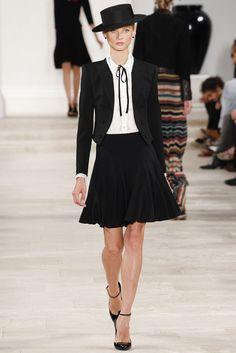 Ralph Lauren Spring 2013 Ready-to-Wear Fashion Show - Anna Selezneva