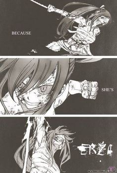 Because she is Erza!