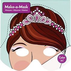 Make-a-Mask Princess