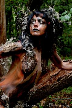 Notes: Base concept for Dryad-themed shoot and associated body art.