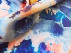 Print Pattern Katey Jane Smith Silk Painterly Texture abstract