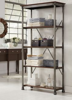 Found it at Wayfair - Orleans Multi-Function Shelves in Marble