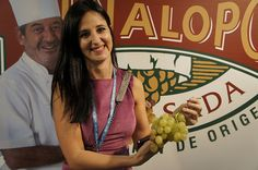 """""""Las uvas de Novelda me encantan"""" Esther de IFA    #grape #recetas #uva #vinalopo #denominacion de origen #spain #alicante"""