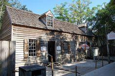 Colonial Spanish Quarter. St. Augustine, Florida (FL), USA
