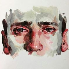 Acrylic study by Elly Smallwood Art Sketches, Art Drawings, Pencil Drawings, Elly Smallwood, Illusion Kunst, Art Watercolor, Arte Sketchbook, Ap Art, Aesthetic Art