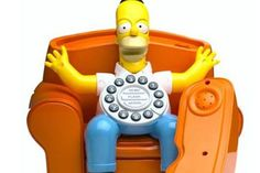From our lovely Homer Simpson character to a vintage colonial style old phone, meet twelve of the funniest landline telephones you can actually buy.