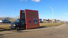 Mobile billboards are great for drawing attention to seasonal pop-up stores, such as Spirit Halloween. #outdooradvertising #alternativeadvertising #mobilebillboards #outofhomemarketing