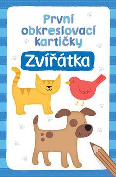 První obkreslovací kartičky  Zvířátka - Svojtka - 2+