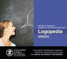 #Grado en #Logopedia de la #UCV #CompromisoUCV #TuGradoUCV