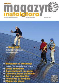 Magazyn Instalatora 3/2015 Odnawialne źródła energii, kolektory słoneczne, fotowoltaika, pompy ciepła, sieci preizolowane, systemy antyzalaniowe, kominy