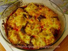 Τα φαγητά της γιαγιάς: Μοσχάρι με μανιτάρια και τυρί στο φούρνο