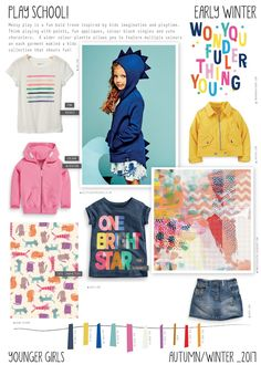 Emily Kiddy: Play School - Autumn/Winter 2016/17 - Younger Girls Trend