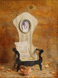 """Купить Трон для мишки ,куклы """"ALICE"""". - кремовый, кресло для куклы, кресло, стульчик, стульчик для куклы"""