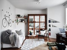 Studio apartment with murphy bed