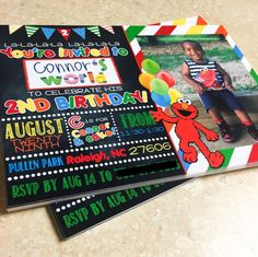 Elmo Invitation Elmo Birthday Invitation by AGMPrintableDesigns