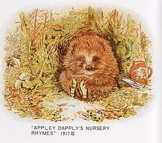 Appley Dapplys Nursery Rhymes - 1917 - Old Mr. Prickepin