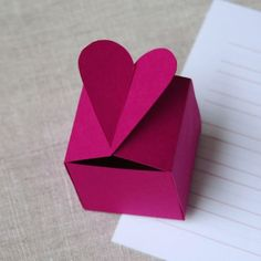 Heart Shaped Box Template