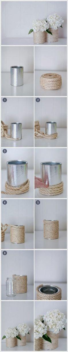 L'idée du Vendredi: recycler ses boîtes de conserve! | Sweet Félicité