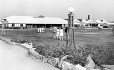 The Dining Hall and Central Lawn at the Sunnyvale Holiday Camp, Rhyl in Vintage Holiday, Camps, Places Ive Been, Seaside, Lawn, Dining, Outdoor, Outdoors, Food