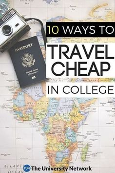 10 ways college students can save money while traveling!