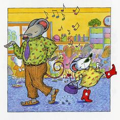Lilly's Purple Plastic Purse, by Kevin Henkes.  I read this to my first graders at the beginning of the year.  Lily learns how to express her creativity while respecting the needs of others.  Lessons:  patience, communication skills, classroom respect and cooperation