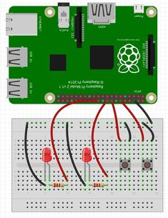Raspberry Pi LED Circuit