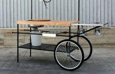 Milan Furniture Fair 2015: Q-China mobile street-food station by MoMang