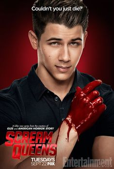 my to fave things horror/ comedy sitcoms and Nick Jonas  #NickJonas #ScreamQueens #FavoriteThings