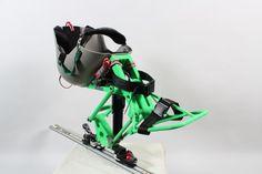 The new Torque Monoski Adaptive Skiing Equipment from DynAccess @ What's New on SitSki Adaptive Sporting Equipment