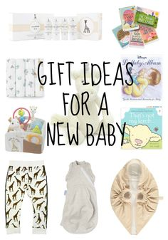 Gift Ideas for a New Baby - Lamb & Bear