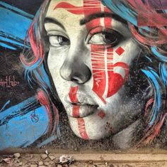 StreetArt : Photorealistic Street Art in Kathmandu, Nepal - artist unknown Best Street Art, Amazing Street Art, 3d Street Art, Street Artists, Amazing Art, Awesome, Murals Street Art, Street Art Graffiti, Banksy